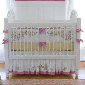 Ruby Crib Bedding Collection