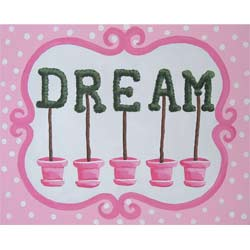 Dream Topiary Wall Hanging