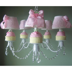 Cupcakes Chandelier