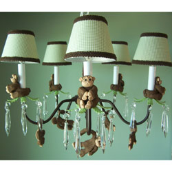 Monkey Business Chandelier