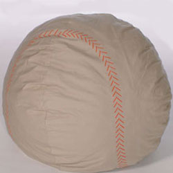Toddler's Baseball Foof Chair