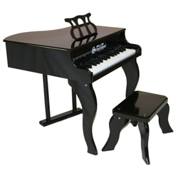 Fancy Baby Grand Piano