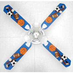 Sports Fanatic Ceiling Fan