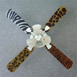 Animal Print Ceiling Fan