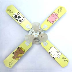 Farm Babies Ceiling Fan