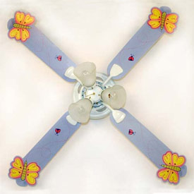 Butterflies Ceiling Fan