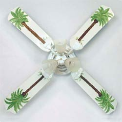 Palm Trees Ceiling Fan