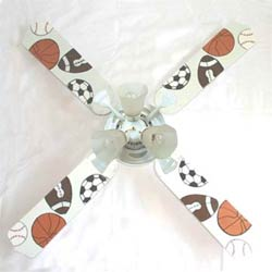 All Star Sports Ceiling Fan