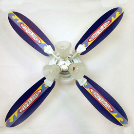 Surfboard Pipeline Ceiling Fan