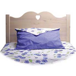 Scalloped Twin Headboard