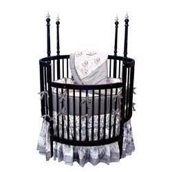 Sophistication Round Crib Bedding