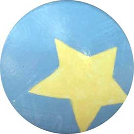 Star Knob (Pack of 6)