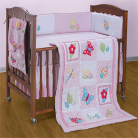 Summer Fields Crib Bedding Set