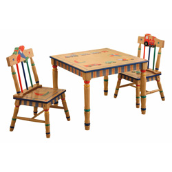 Wings & Wheels Table and Chair Set