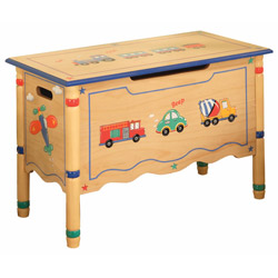 Wings & Wheels Toy Chest