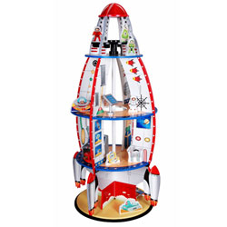 Rocketship Bookshelf Playset