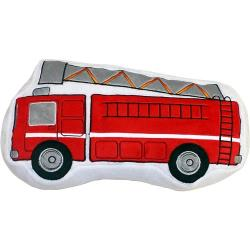 Teyo's Firetruck Decorative Pillow