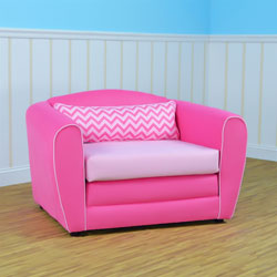 Tween Pink Sleeper Chair