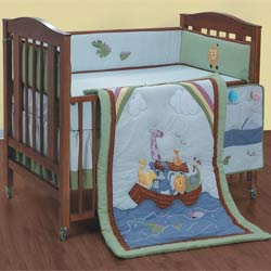 Noah's Ark Crib Bedding Set
