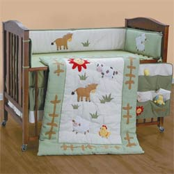 Little Farmer Crib Bedding Set