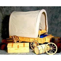 Covered Wagon Twin Bed