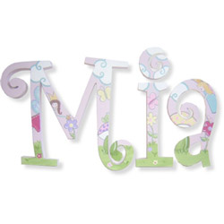Fairies Whimsical Letters