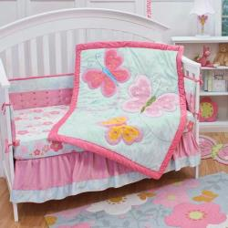 Wings 10 Piece Crib Bedding Collection