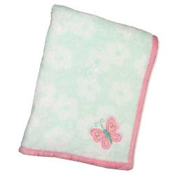 Wings Plush Blanket with Appliqu�