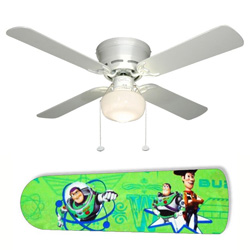 Woody and Buzz Toy Storys Ceiling Fan
