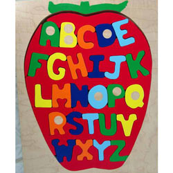 ABC Apple Puzzle