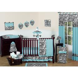 Zebra Crib Bedding Set