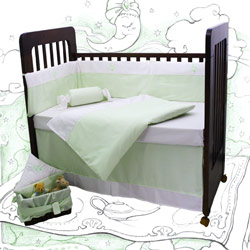 Magic Duck Crib Bedding