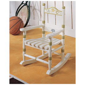 Alphabet Toddler's Rocking Chair