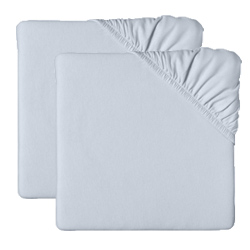 Set of 2 Jersey Knit Porta Crib Sheets
