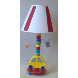 Yellow Car Lamp