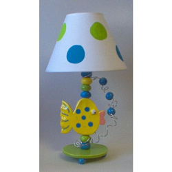 Fish Bubbles Lamp