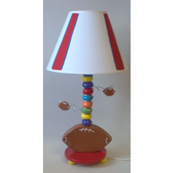 Football Ceramic Lamp