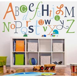 Alphabet Fun Wall Decal
