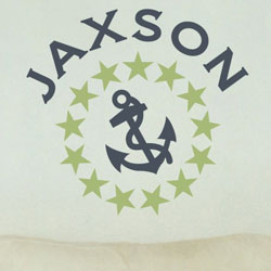 Stars and Anchor Wall Decal