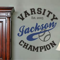 Champion Wall Decal