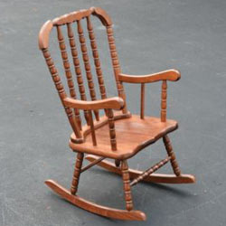 Child S Jenny Lind Rocking Chair