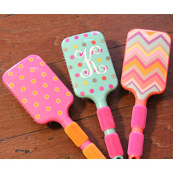 Personalized Girl's Hair Brush