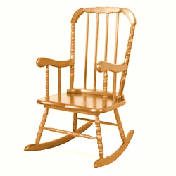 Child's Jenny Lind Rocking Chair