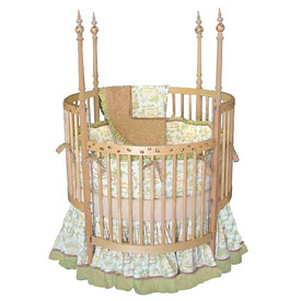 Animal Forest Round Crib
