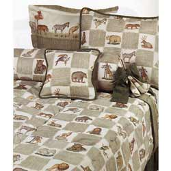Animal Kingdom Toddler Bedding