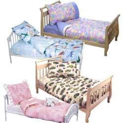 Assorted 4 Piece Toddler Bedding