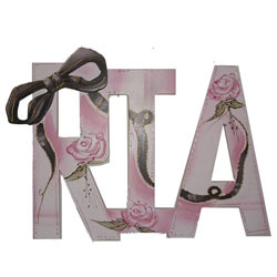 Ria Ribbon Wall Letters
