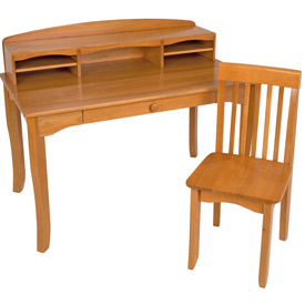 Avalon Desk, Hutch and Chair