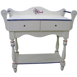 Vintage Airplane Changing Table