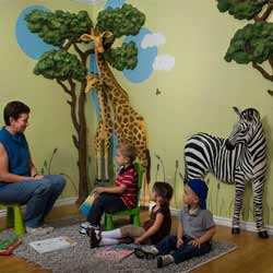 3D Safari Wall Art Decor